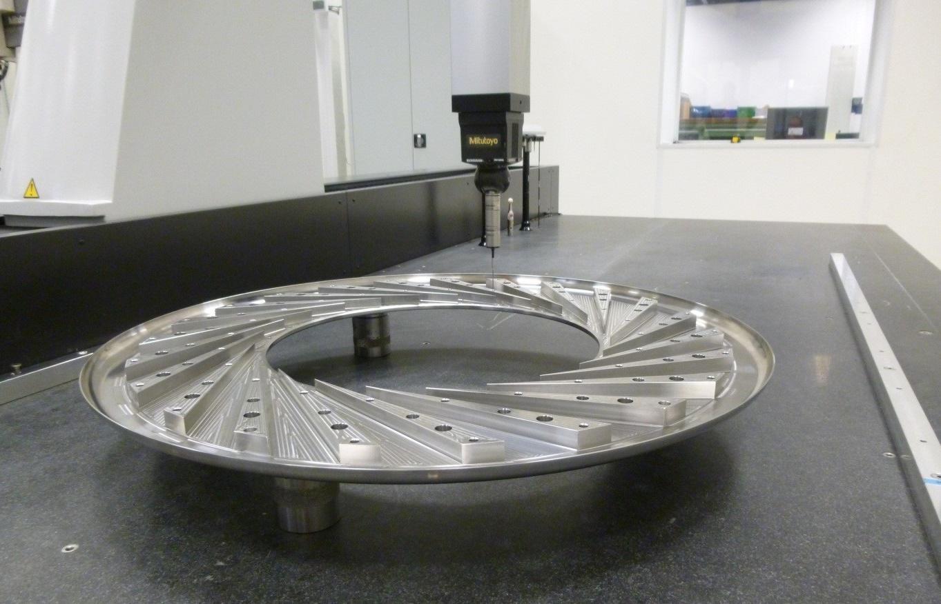 De controle van een turbinedeel voor OPRA Turbines
