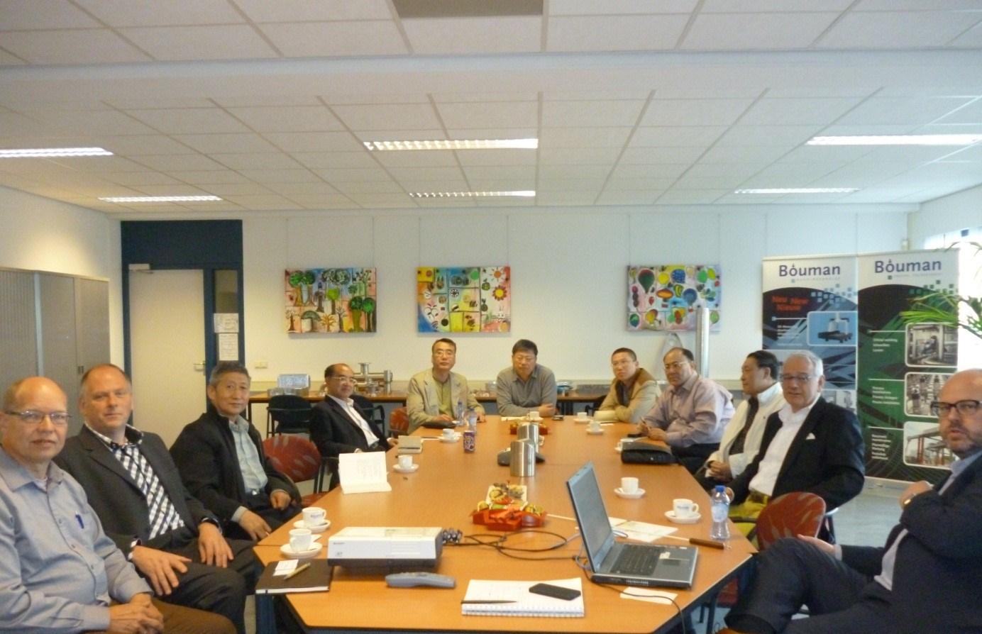 Delegatie uit Beijing (China) met focus op water en luchtzuivering bij Bouman Industries